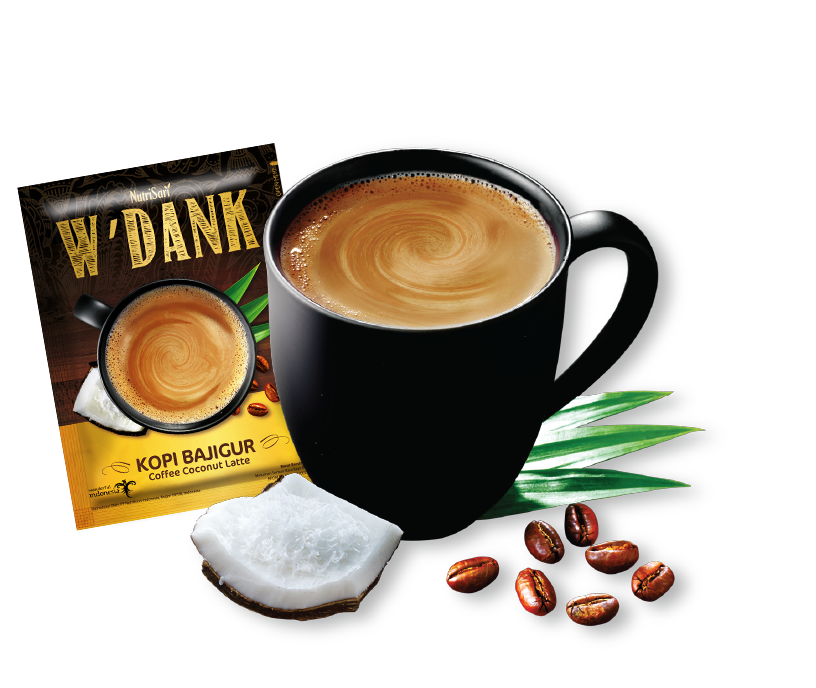 W'dank Coffee Coconut Latte